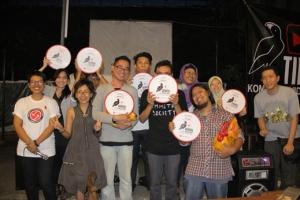 foto bersama para finalis (Jkt,1 Des 2012)