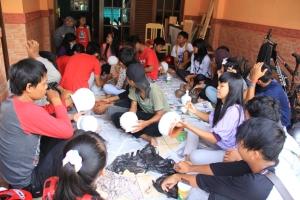 suasana prakerin di TBM Sangkanparan 2013