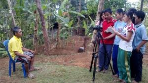siswa SMK Muhamadiyah Majenang produksi film Dokumenter
