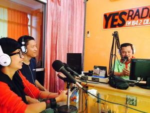 Engage Media Dlm Acara DIORAMA Yes Radio