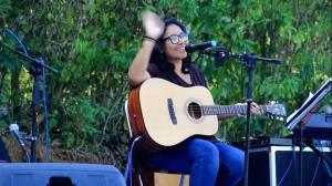 Perform Chaira Andhia Putri dlm acara Wiwit Kopi Muria
